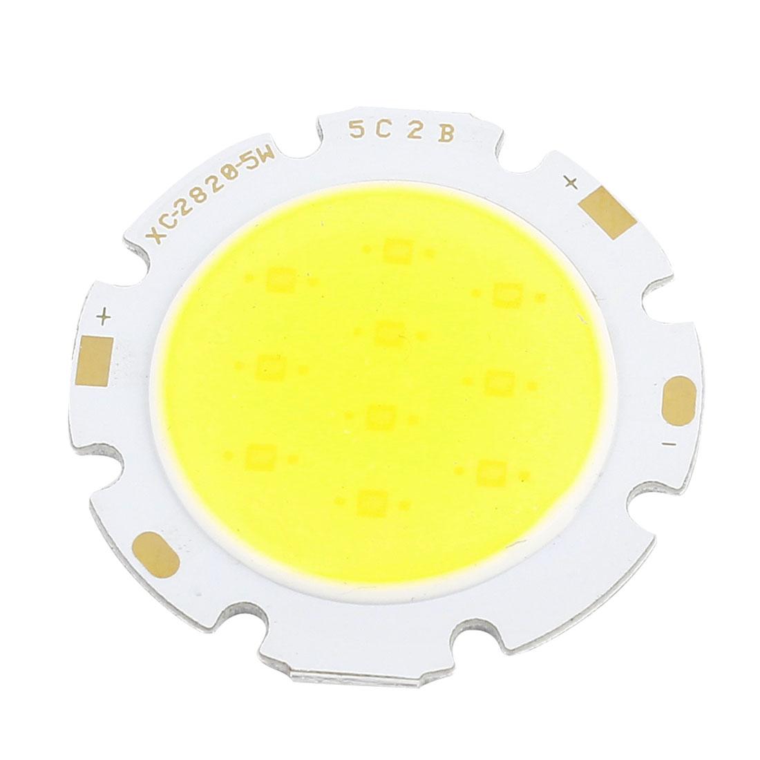 15-17V 5W Pure White Light High Power SMD COB LED Lamp Chip Emitter 500LM