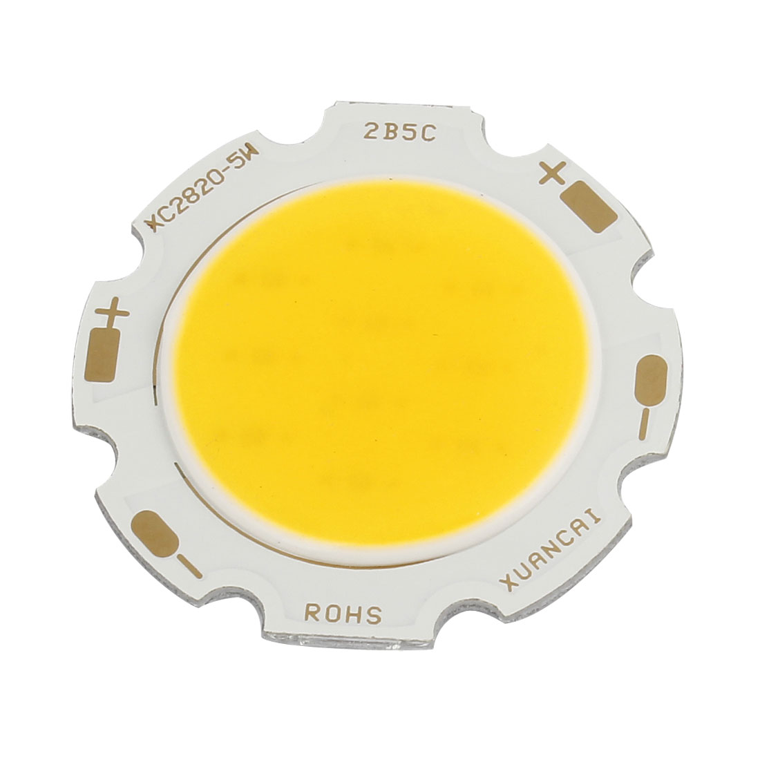 15-17V 300mA 5W Warm White Light High Power SMD COB LED Lamp Chip Bulb