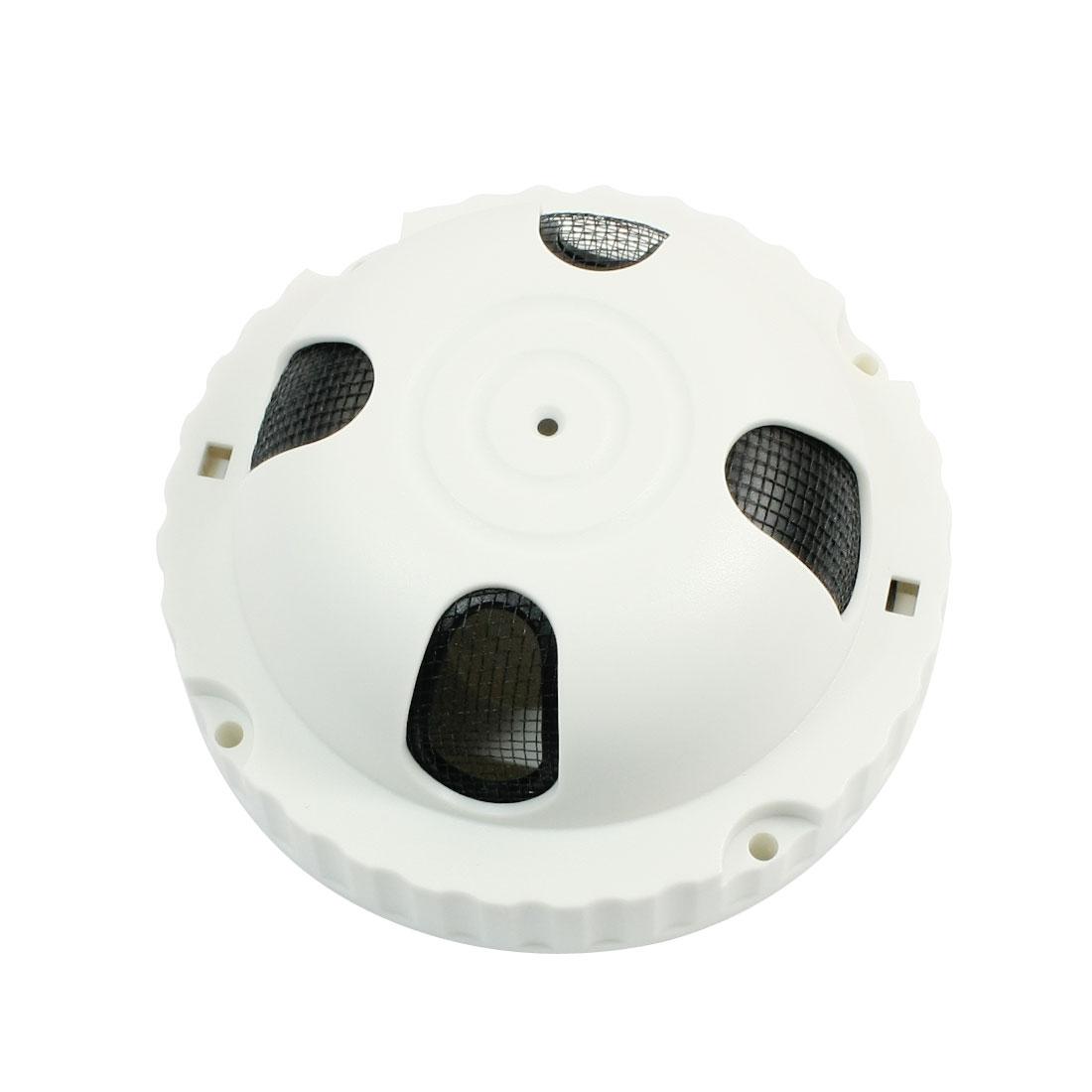 "Indoor Ceiling Mount CCD Dome Camera Plastic Housing 4.3"" Diameter"
