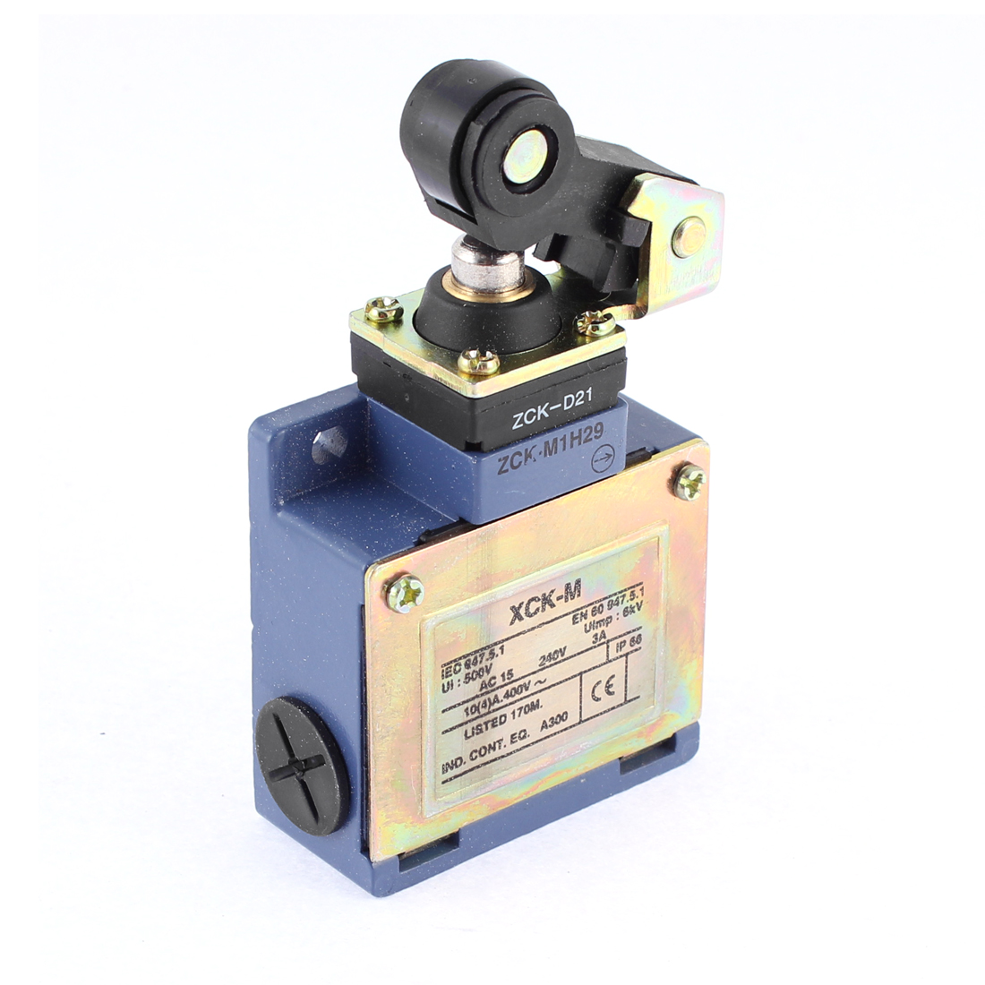 Momentary 1NO 1NC Top Actuator Limit Switch 500V 6KW AC 240V 3A XCK-M