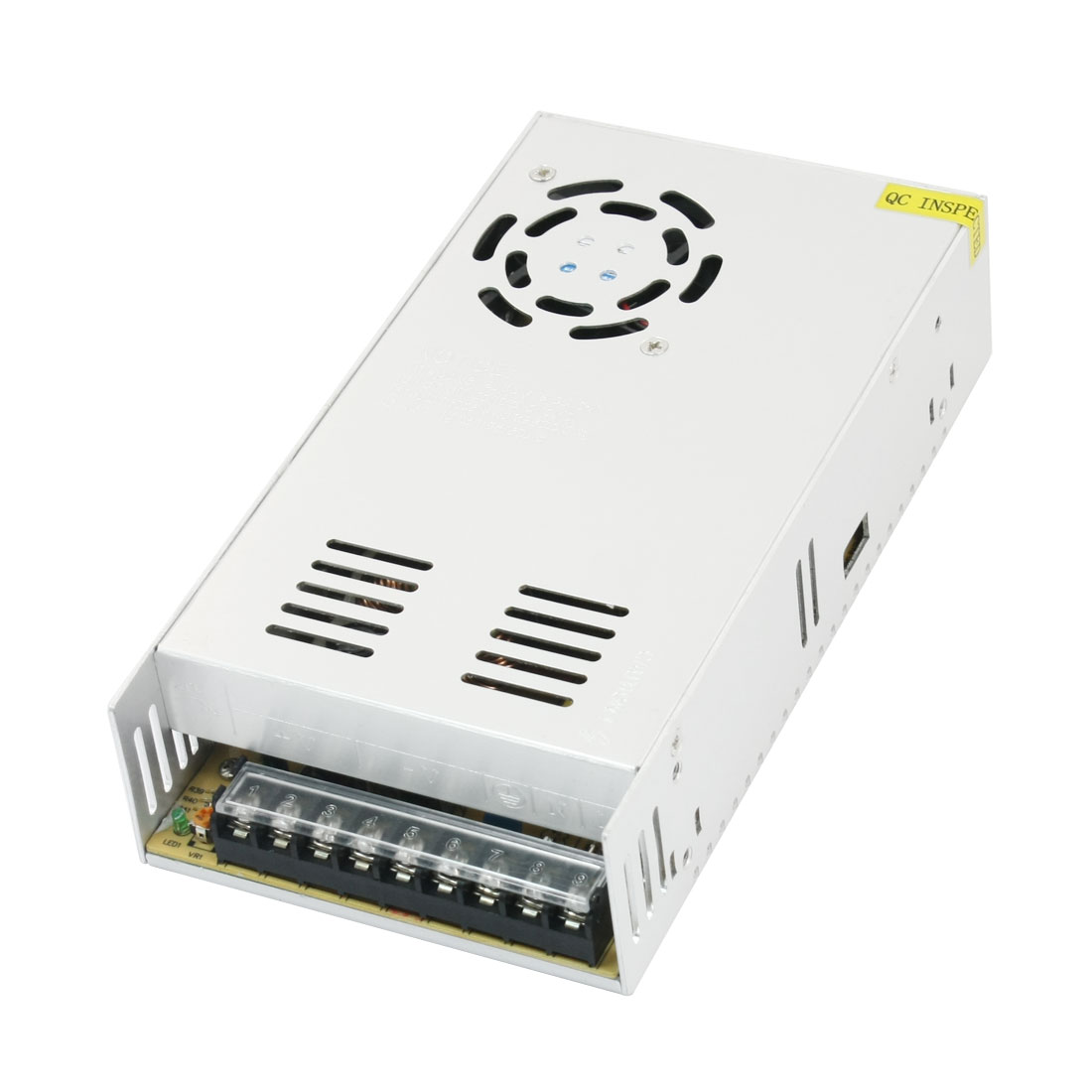 AC 110/220V to DC24V 14.6A 360W Rectangle Aluminum Case LED Strip Switching Power Supply Driver Converter Adapter