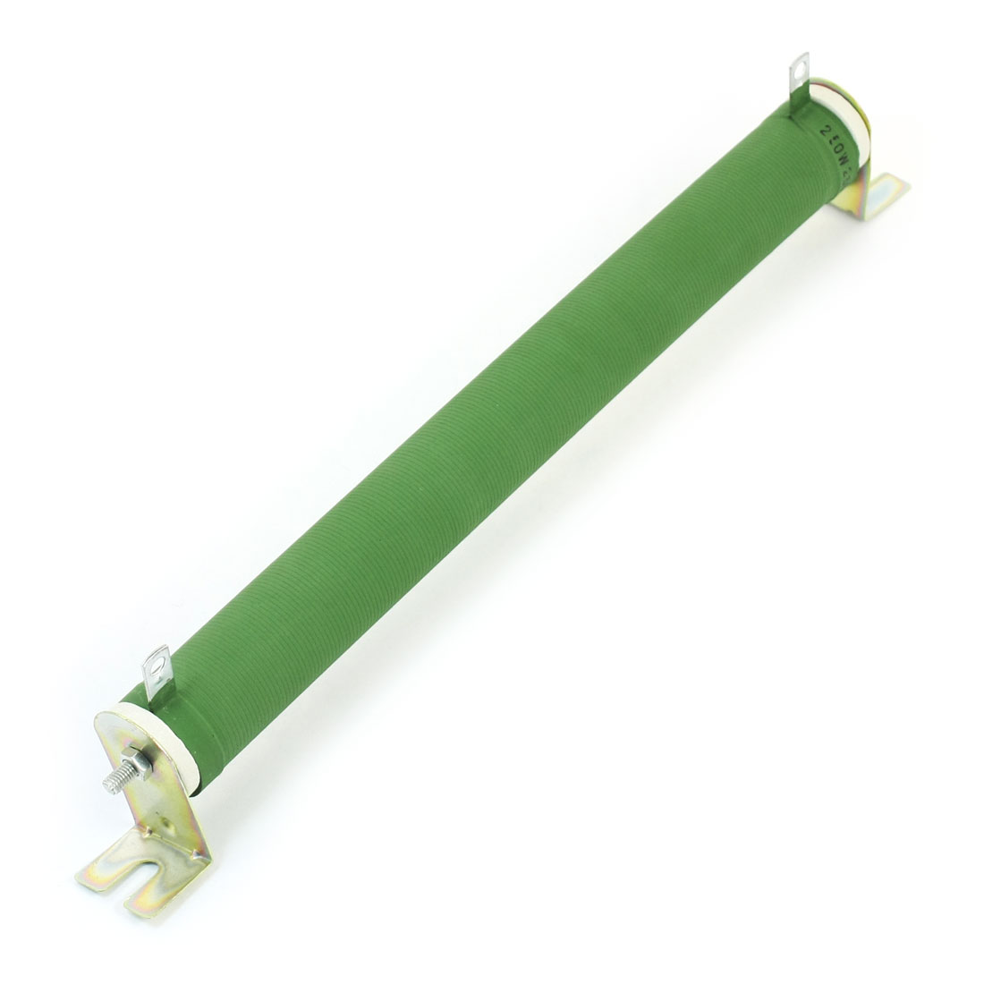 250W 250 Ohm Tubular Green Ceramic Tube Adjustable Variable Wirewound Power Rheostat Resistor