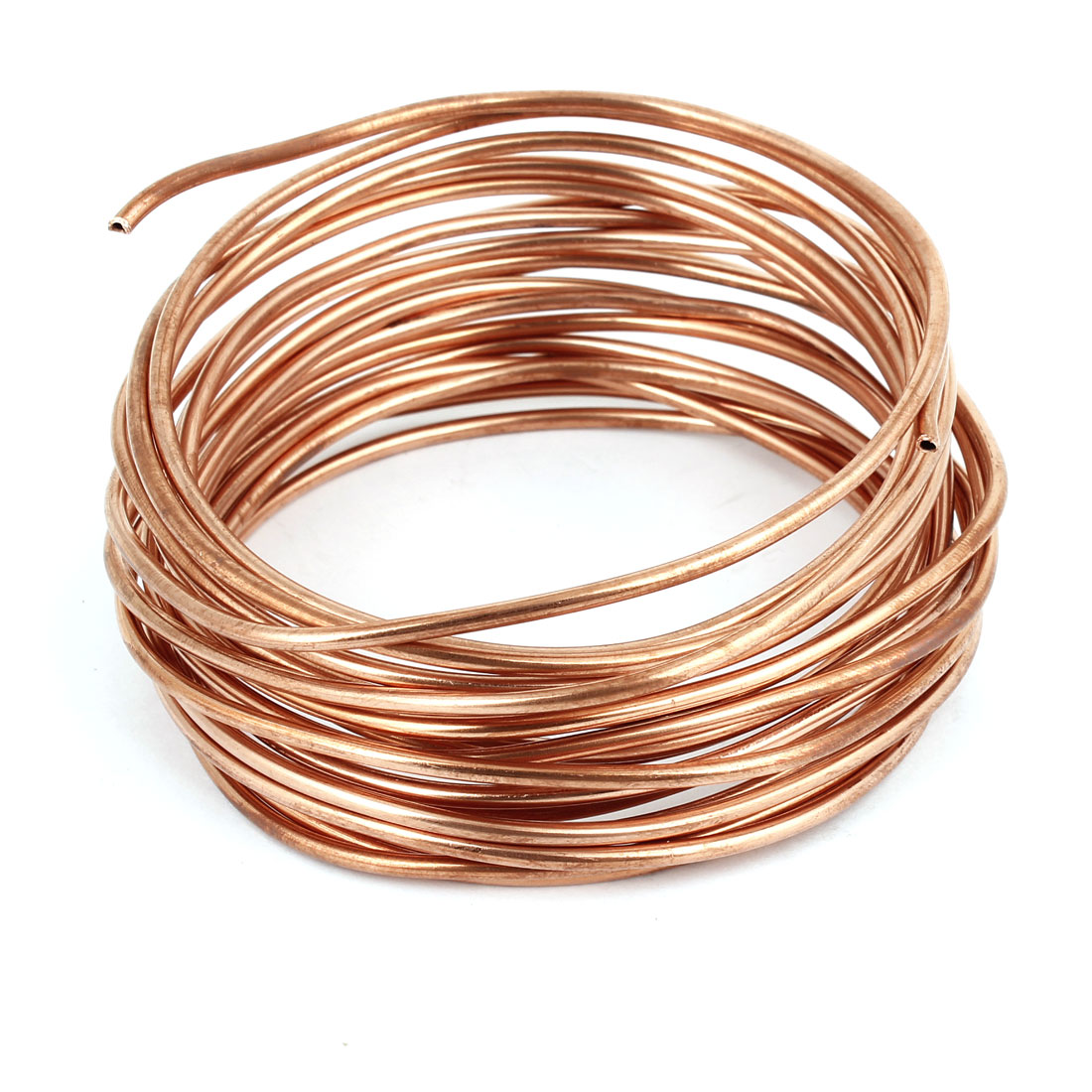 5M 16Ft Length Copper Tone Refrigerator Refrigeration Tubing Coil