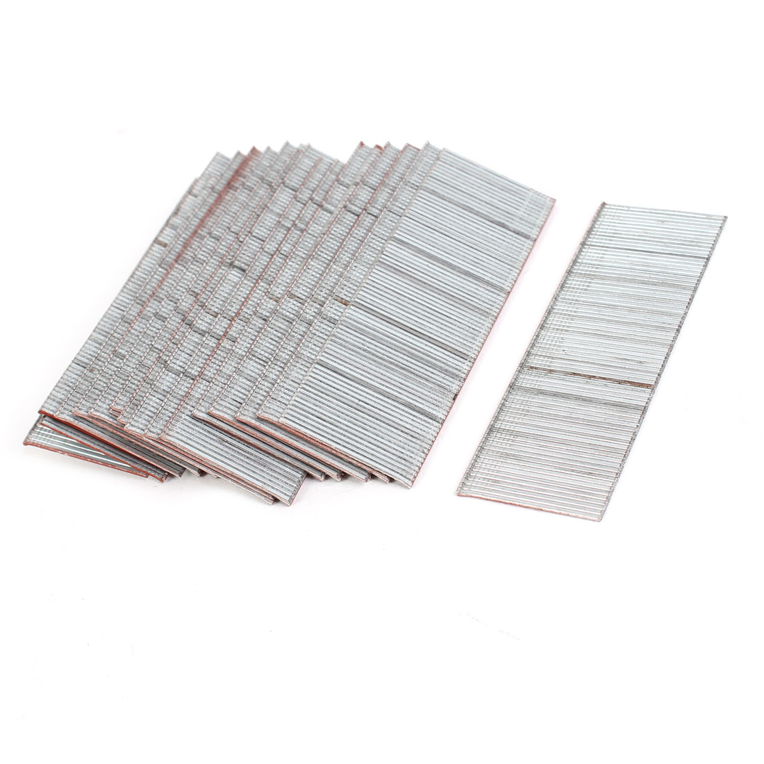 2250pcs 30mm x 1.26mm Metal Straight Staples for Air Driven Staple Nailer
