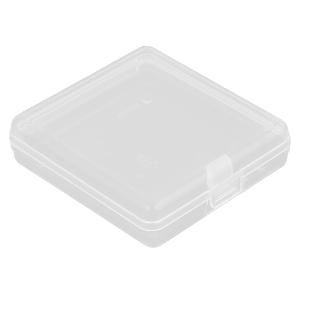 6cm x 5.5cm White Plastic Components Storage Enclosure Case Box
