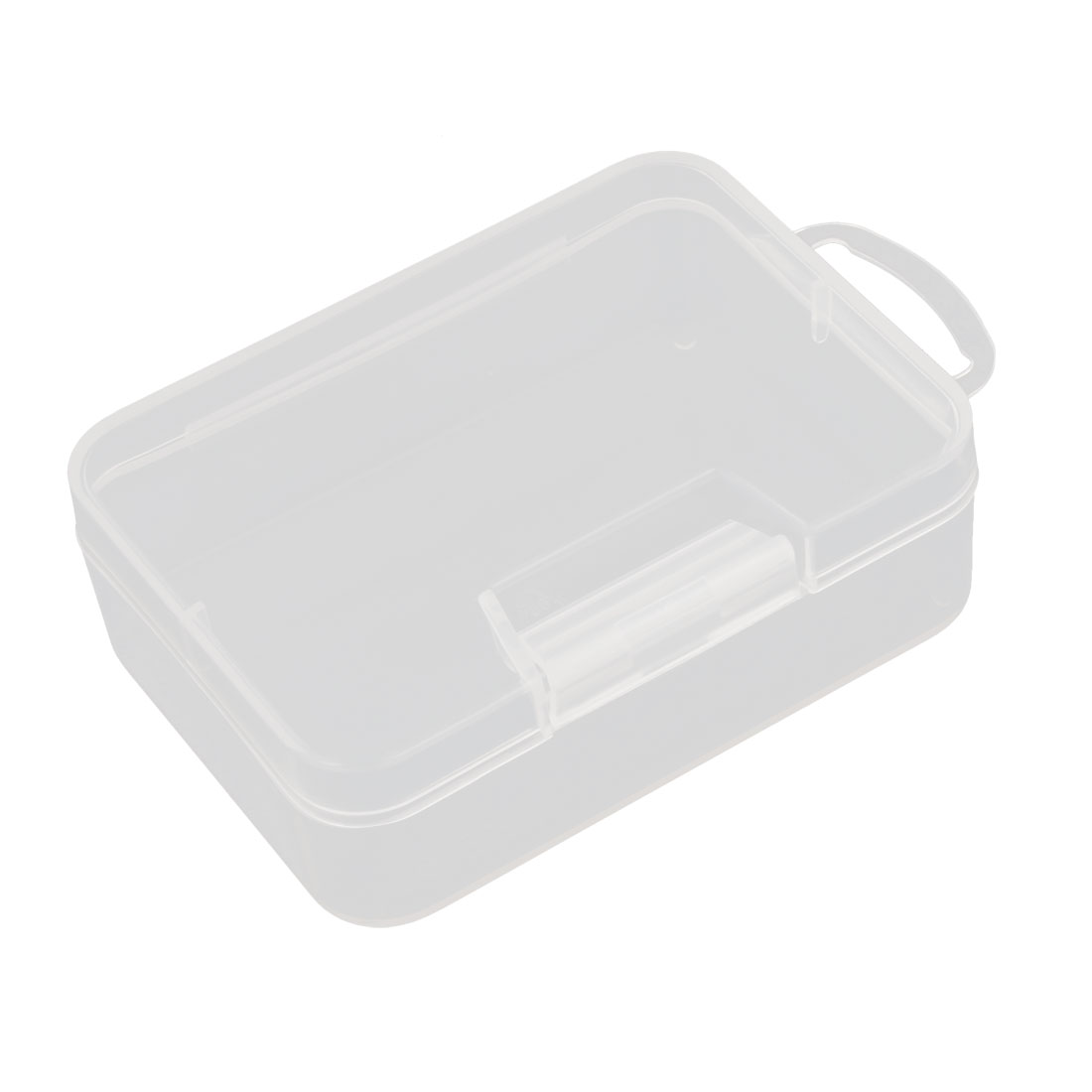 9.2cm x 6.7cm White Plastic Components Storage Enclosure Case Box