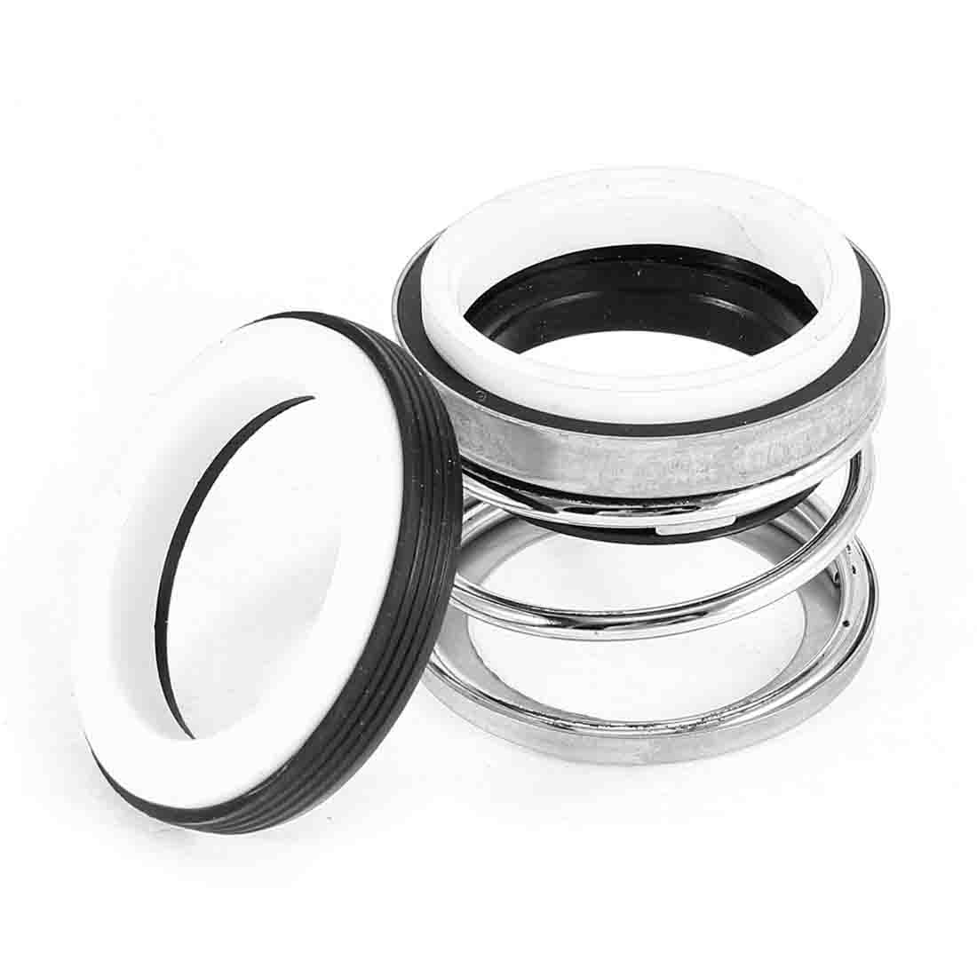 40mm Dia Single Coil Spring Black Rubber Bellows Sealing Shaft Mechanical Seal for Water Pump