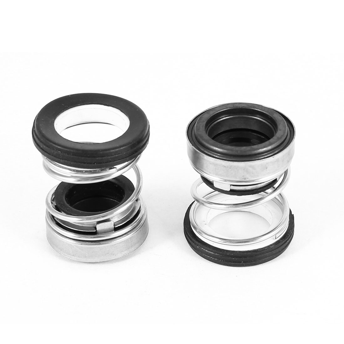 2pcs Ceramic Ring 14mm Cer Dia Single Coil Spring Rubber Bellows Mechanical Seal for Water Pumps