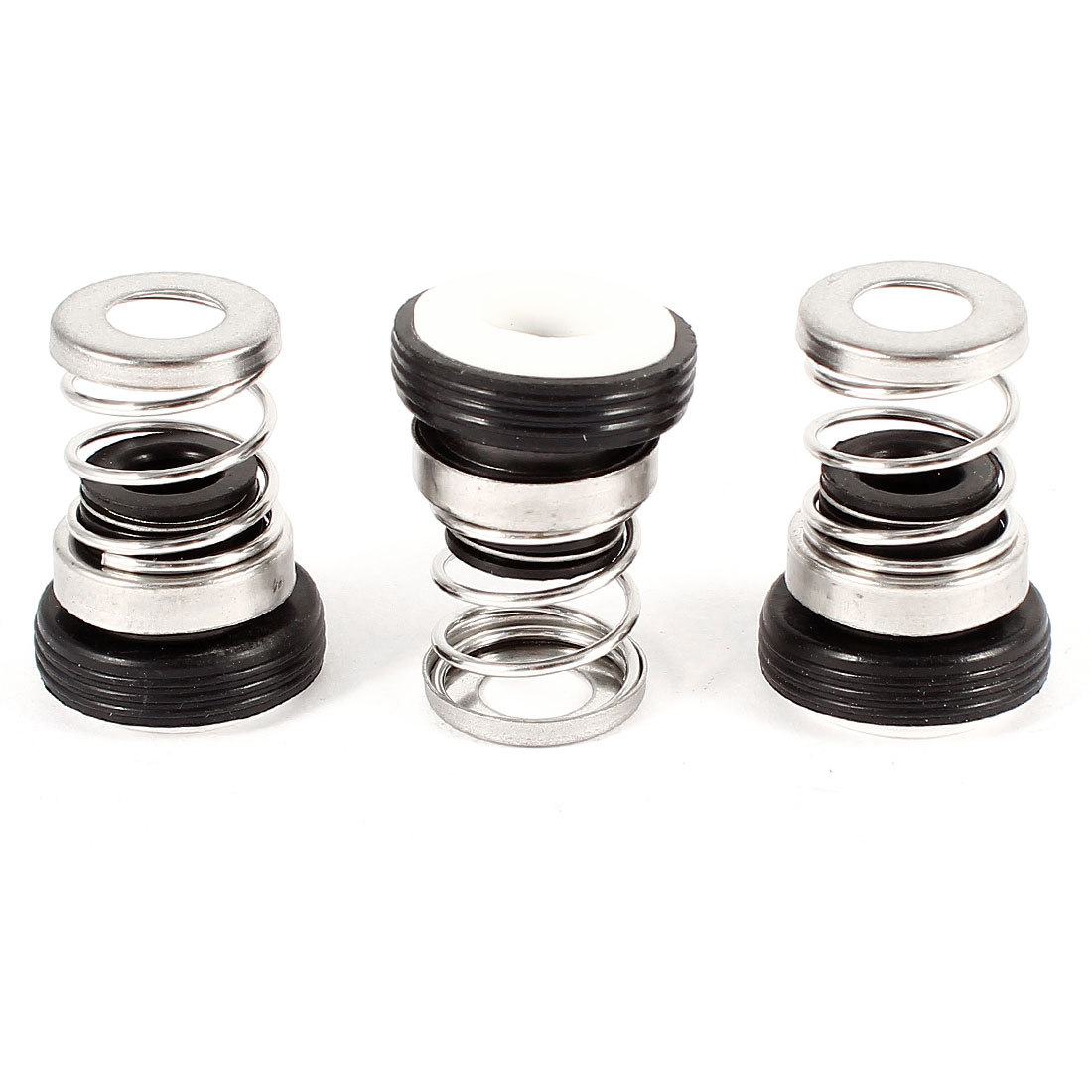 3PCS Ceramic Ring Single Spring Rubber Bellows Water Pumps Mechanical Seal 9mm Inner Dia