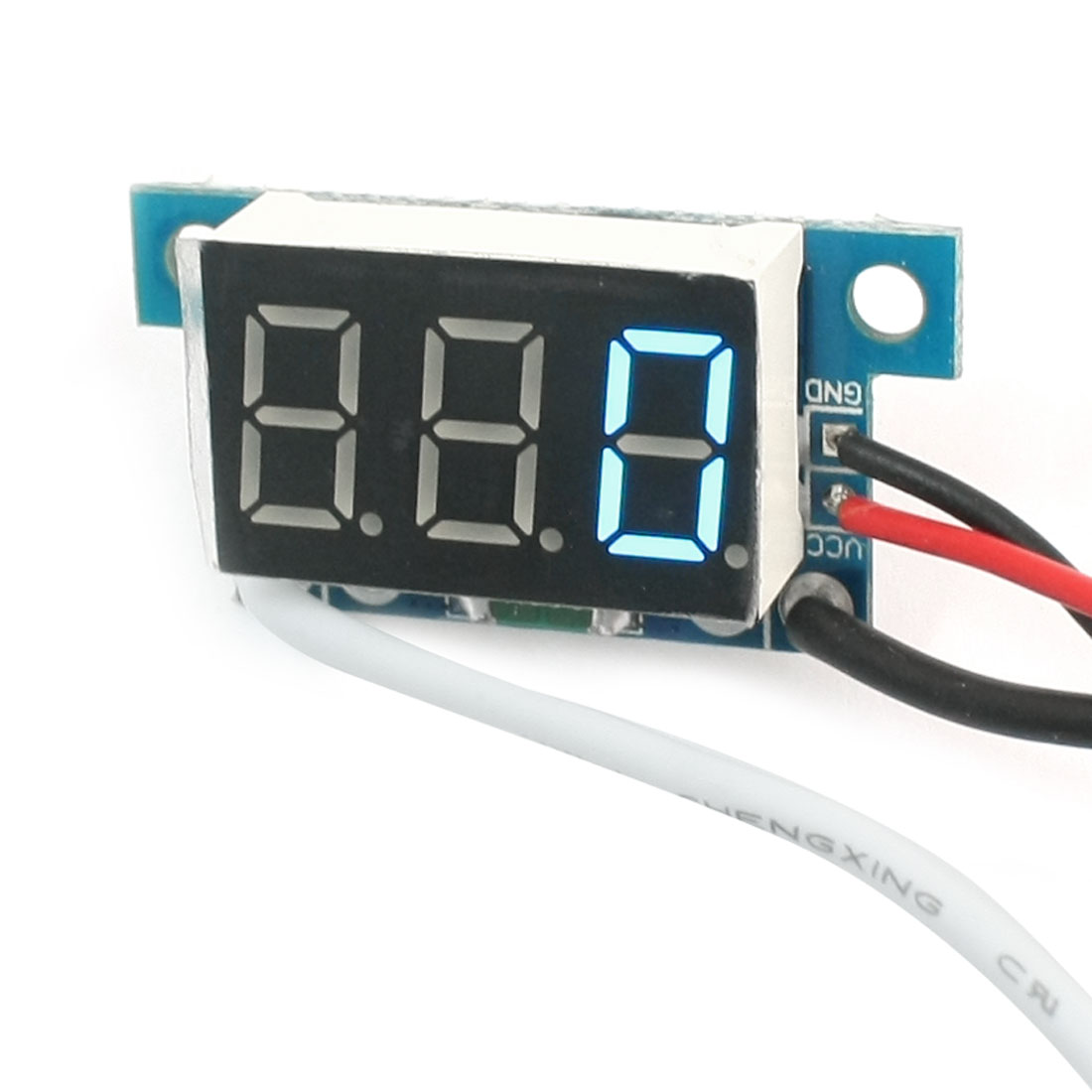 Digital DC 0-1A Blue LCD Display Current Tester Gauge Panel Ammeter Meter