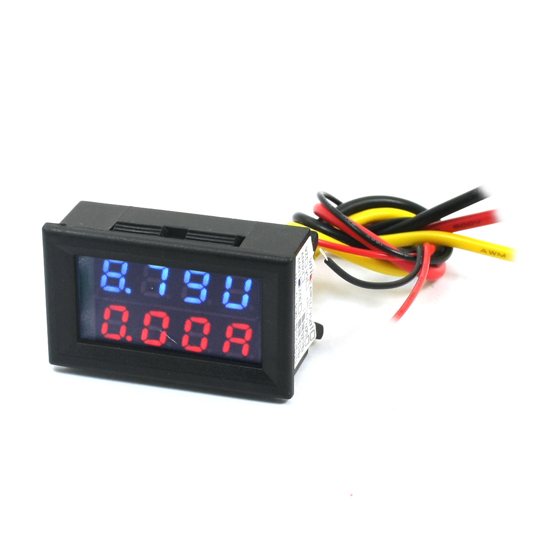 DC 0-100V 0-10A Blue Red Dual LED Digital Volt Voltmeter Ammeter Gauge