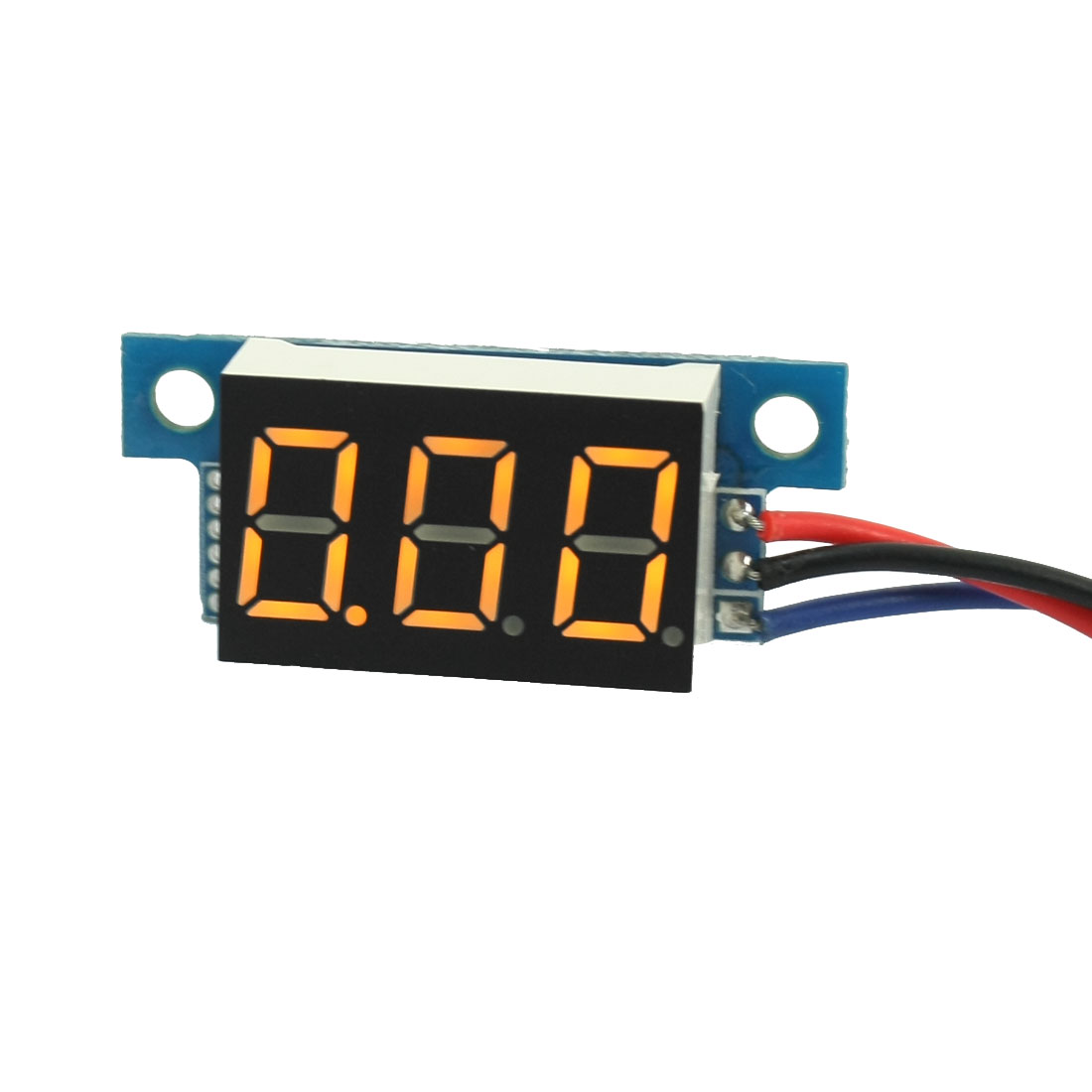 Digital DC 0-10V LED Display Yellow Digit Voltage Tester Gauge Panel Voltmeter