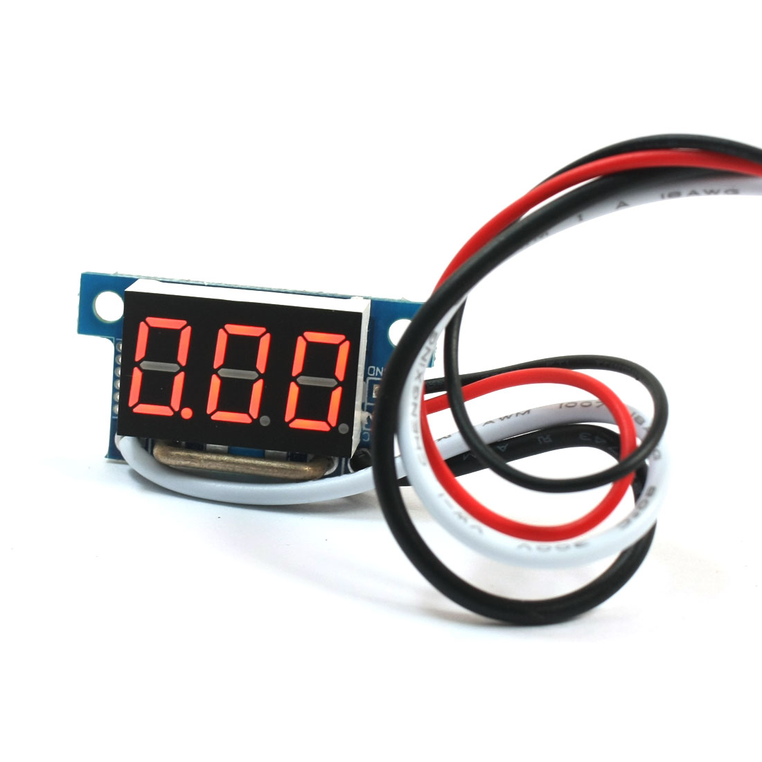 Digital DC 0-10A Red LCD Display Current Tester Gauge Panel Ammeter Meter