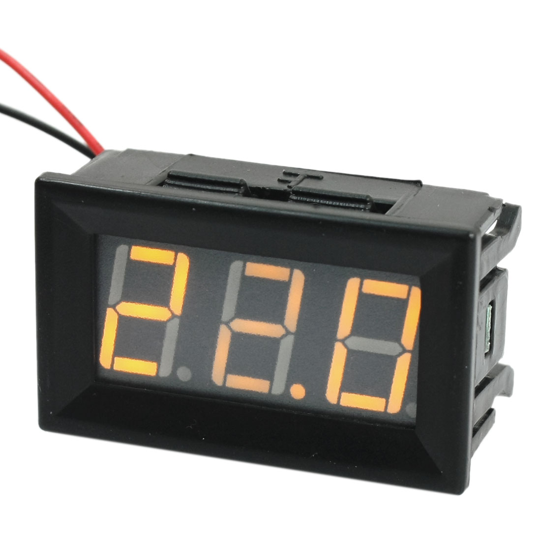 Digital DC 5-120V LED Display Yellow Digit Voltage Tester Gauge Panel Voltmeter