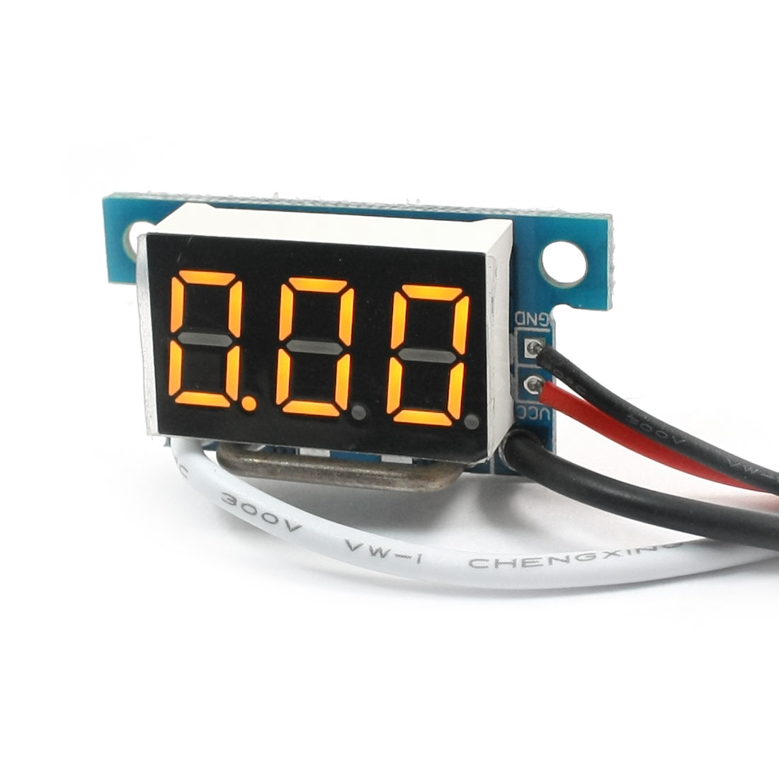 Digital DC 0-10A Yellow LCD Display Current Tester Gauge Panel Ammeter Meter