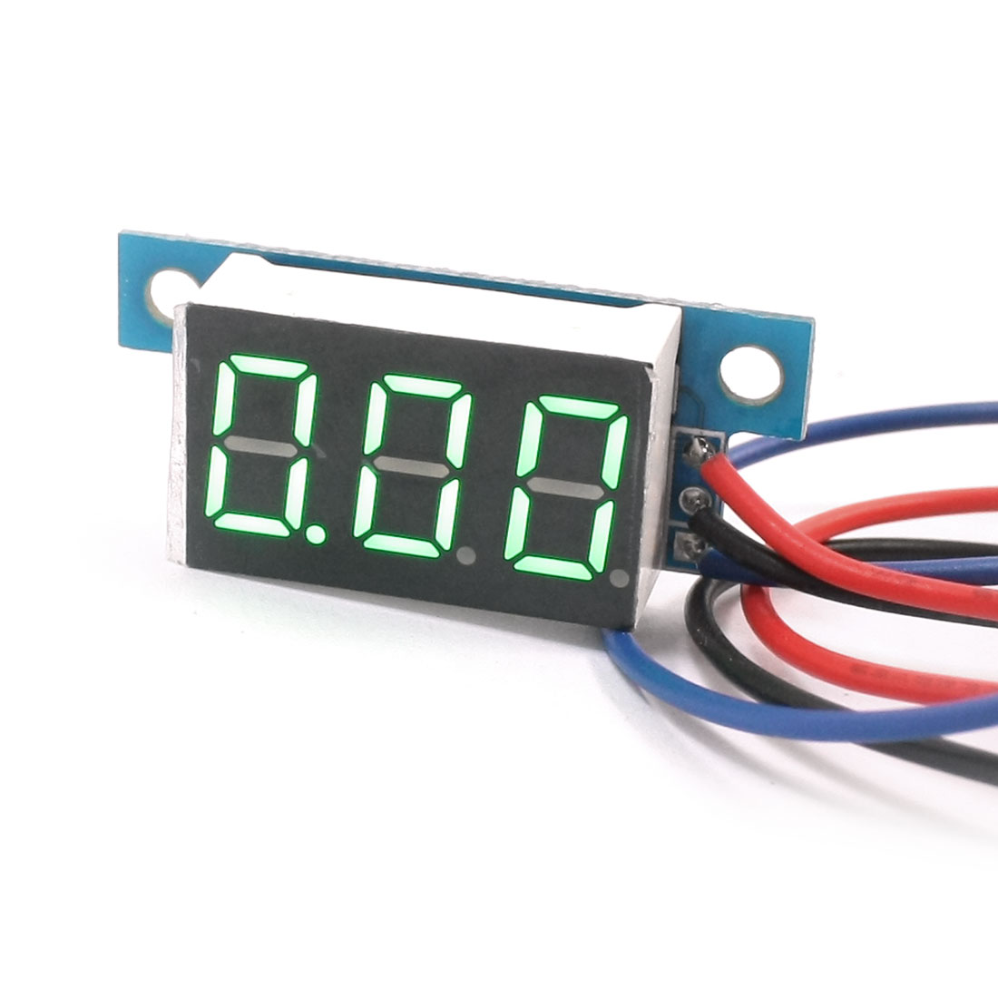 Digital DC 0-10V LED Display Green Digit Voltage Tester Gauge Panel Voltmeter