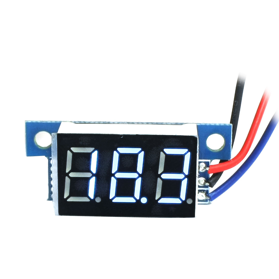 Digital DC 0-100V LCD Display Blue Digit Voltage Tester Gauge Panel Voltmeter