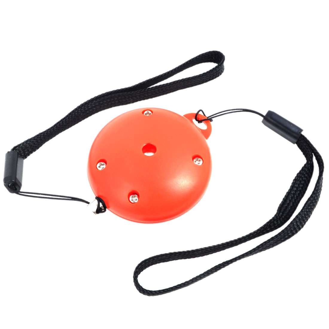 Lady Orange Plastic Battery Powered Personal Protection Defence Alarm