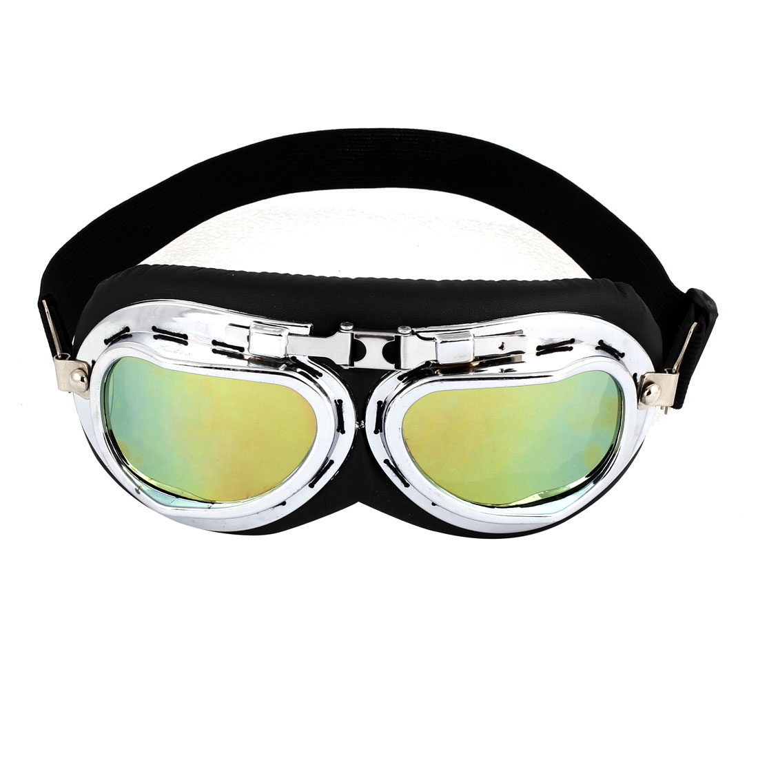 Motorcycle Motorbike Driving Colored Lens Full Frame Goggles Glasses Eyewear