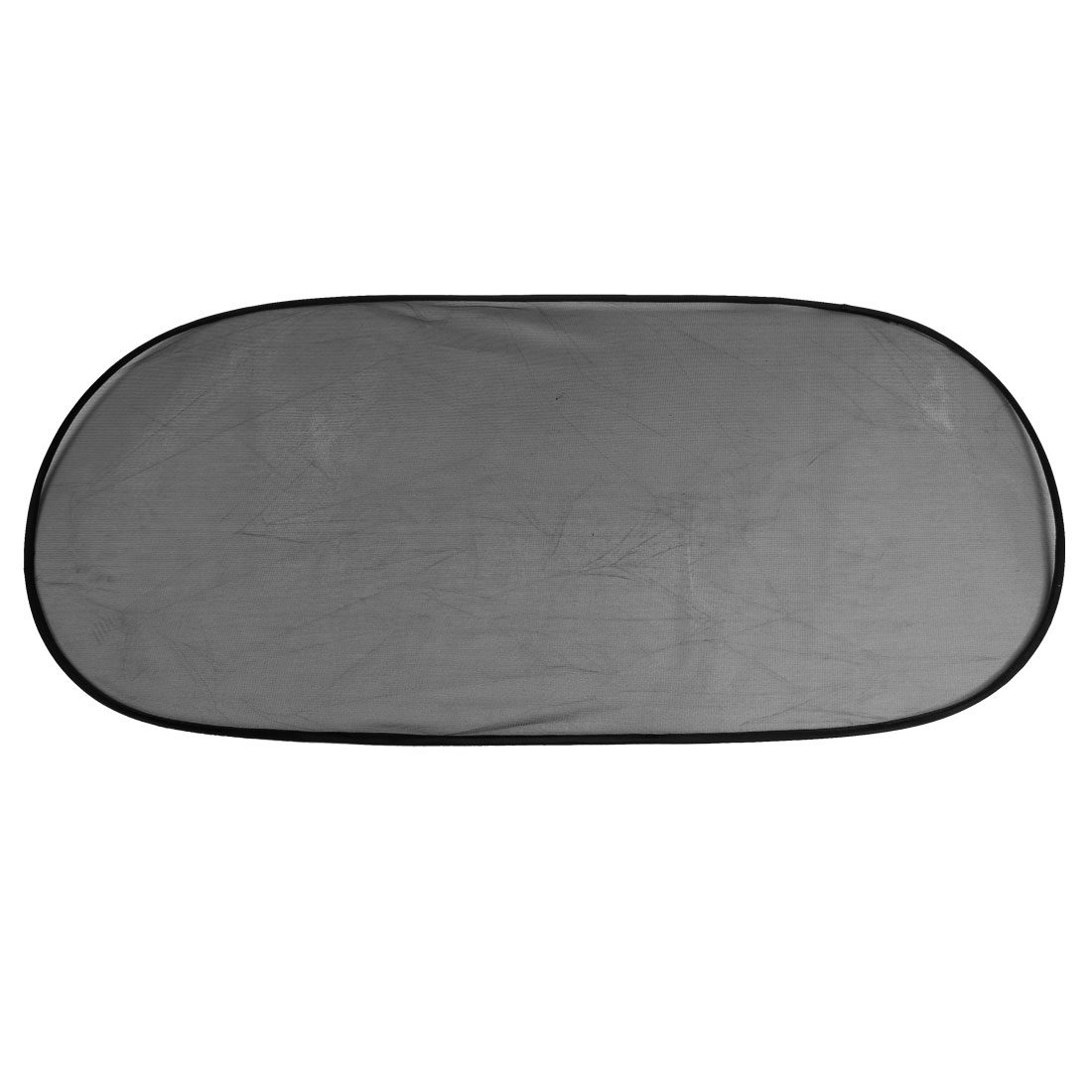 Car Auto Folding Rectangle Side Window Sun Shade Black w Suction Cup 99cm x 47cm