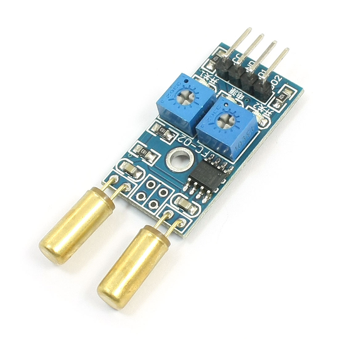 Inclination Accelerometer Module 2 Channel Tilt Slant Angle Sensor