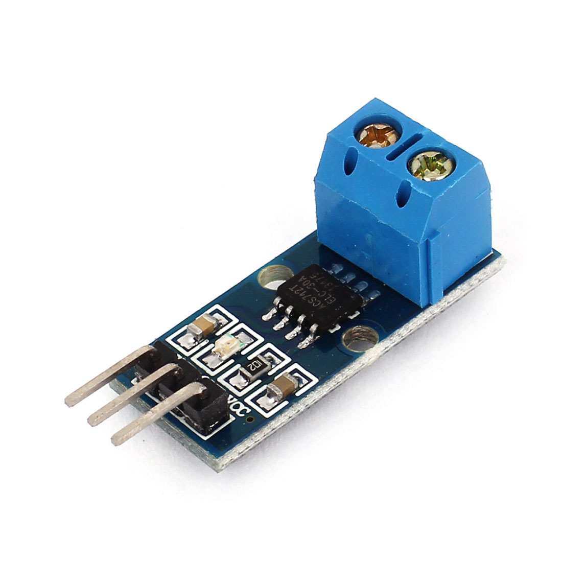 30A Measurement Range ACS712ELC Current Sensor Module Board