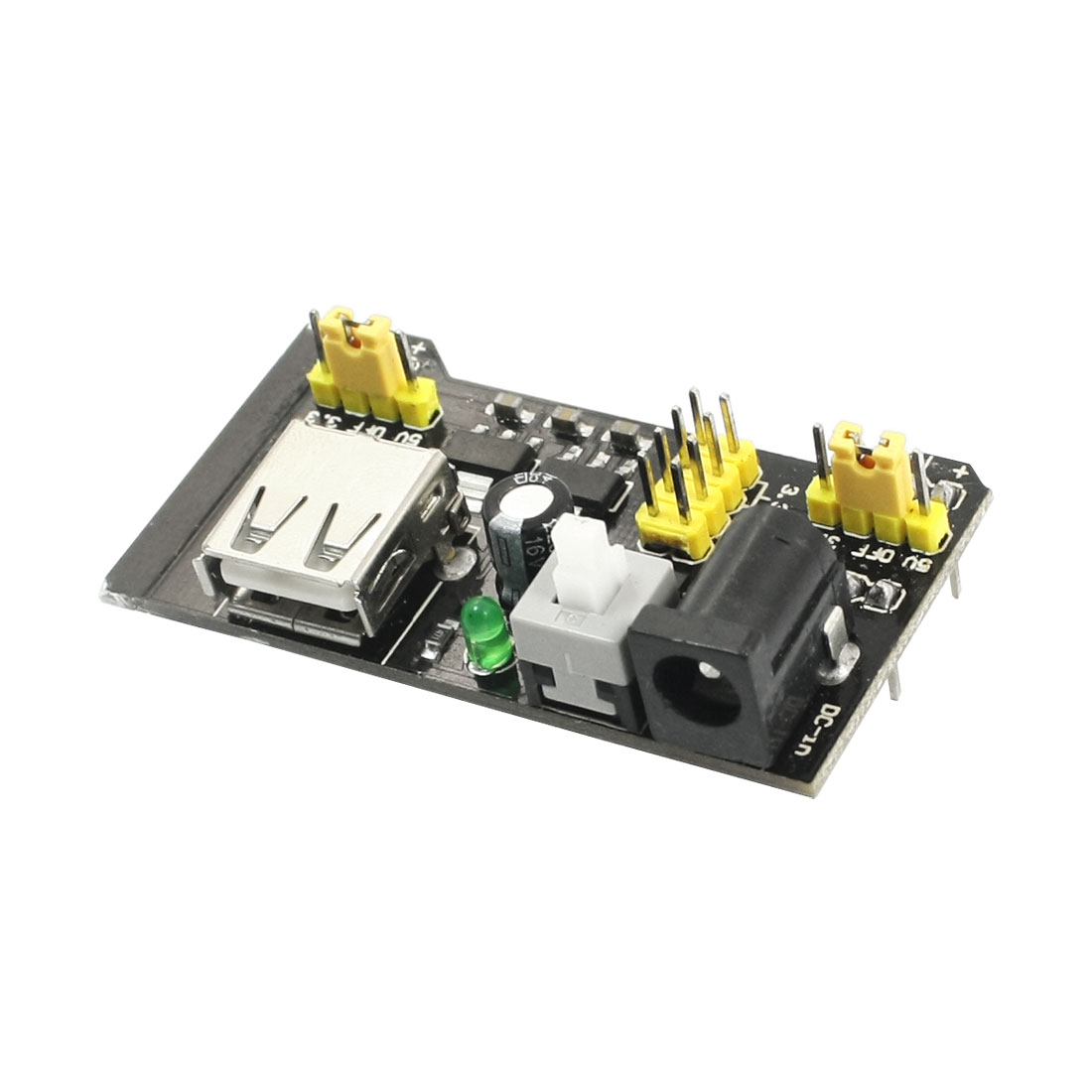 DC 6.5-12V to 3.3V/5V MB102 PCB Board Breadboard Power Supply Module