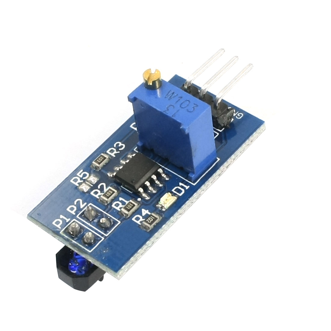 DIY IR Infrared Reflection Sensor Switch Module for Smart Cars