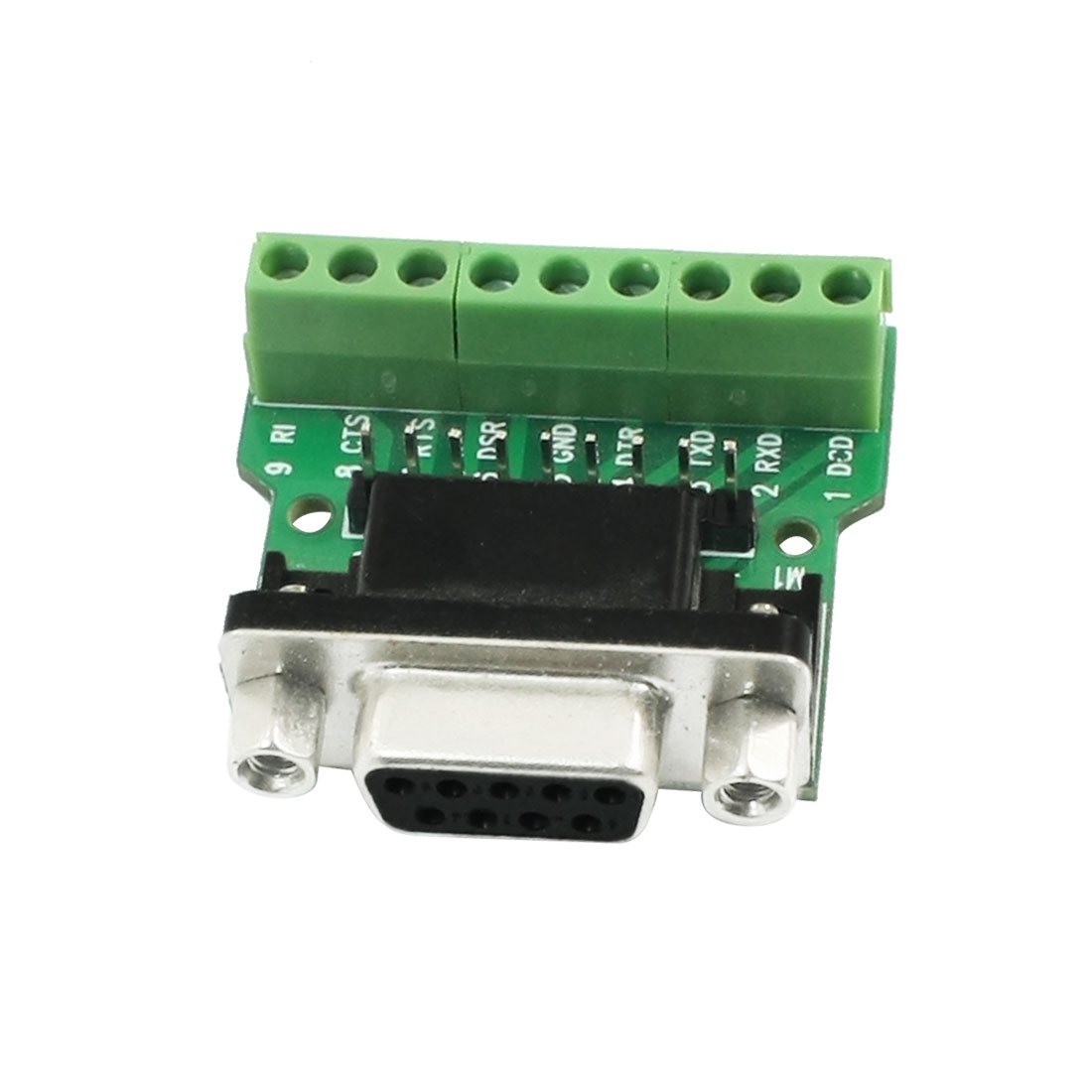 9Pin Terminal Block to RS232 Serial Port Communication Module