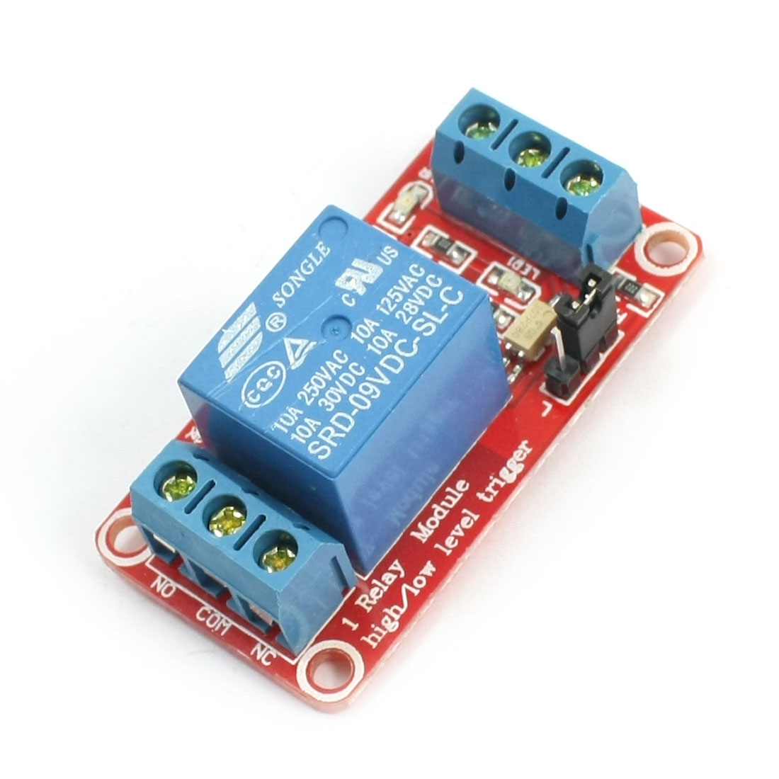 9V Low Level Trigger Optocoupler Isolator 1-CH Relay Module Board