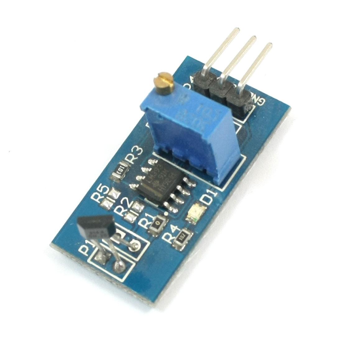 Smart Car Speed Detector LM393 3144 Hall Switch Sensor Module DC 5V