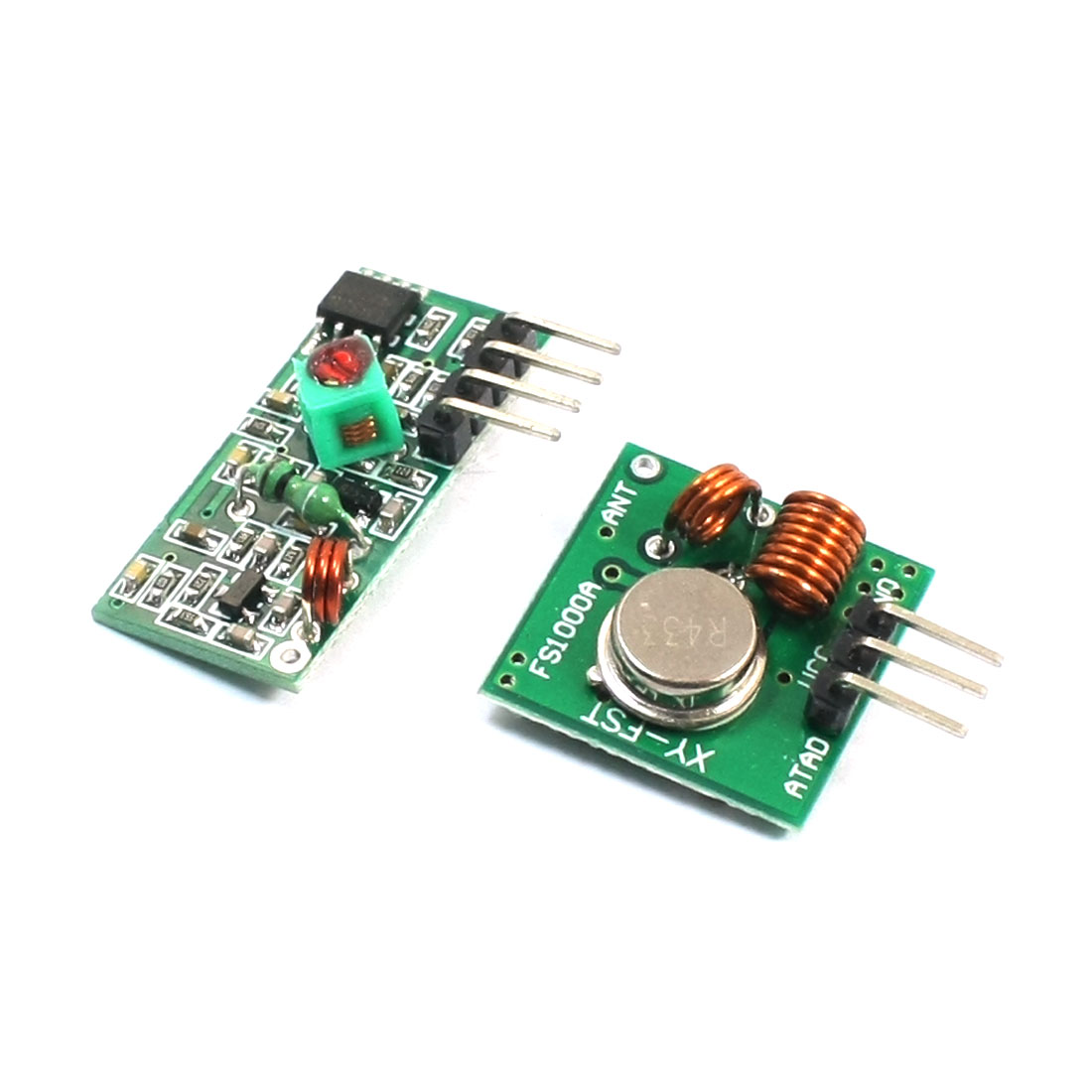 433MHz Wireless Communication Transmitter Receiver Module Link Kit