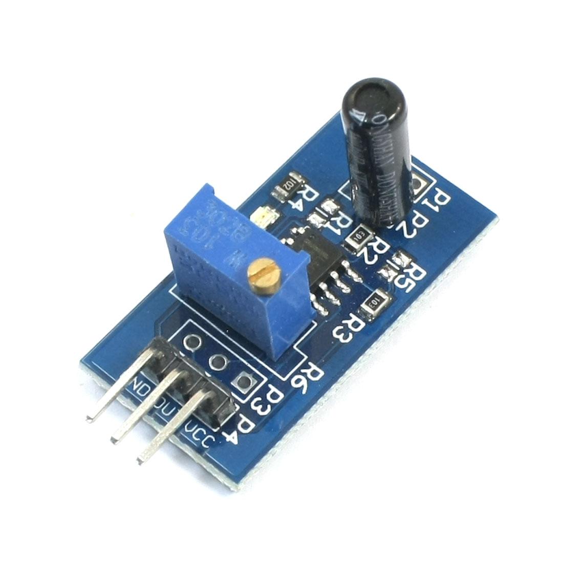 LM393 Chip Vibrat Vibration Sensor Switch Module for RC Smart Cars