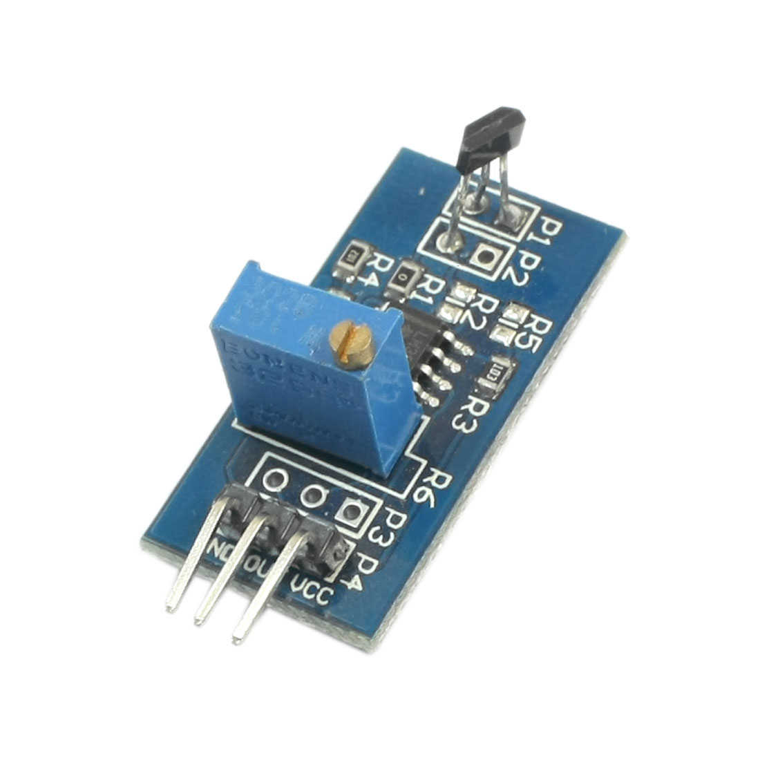 Speed Detect LM393 Chip 3144 Hall Sensor Module DC 5V for Smart Car