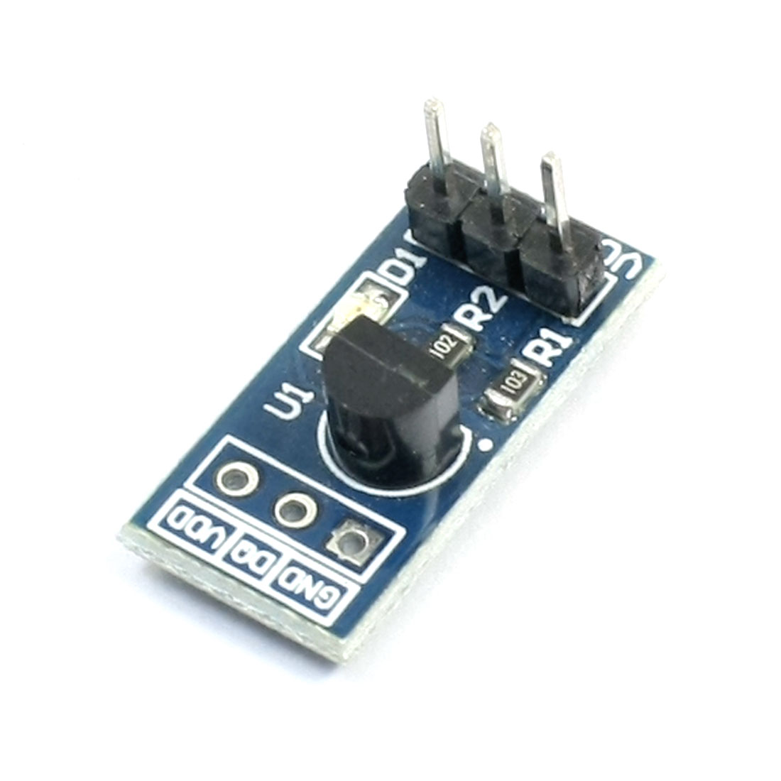 DS18B20 Chip 3 Poles Temperature Sensor Module for Smart Cars