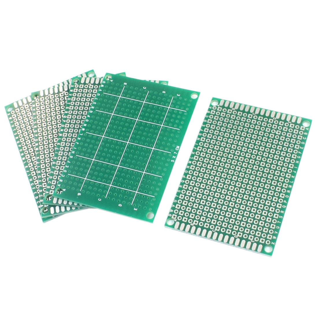 5pcs FR-4 Prototyping Experiment Tester Matrix PCB Circuit Board 5 x 7cm