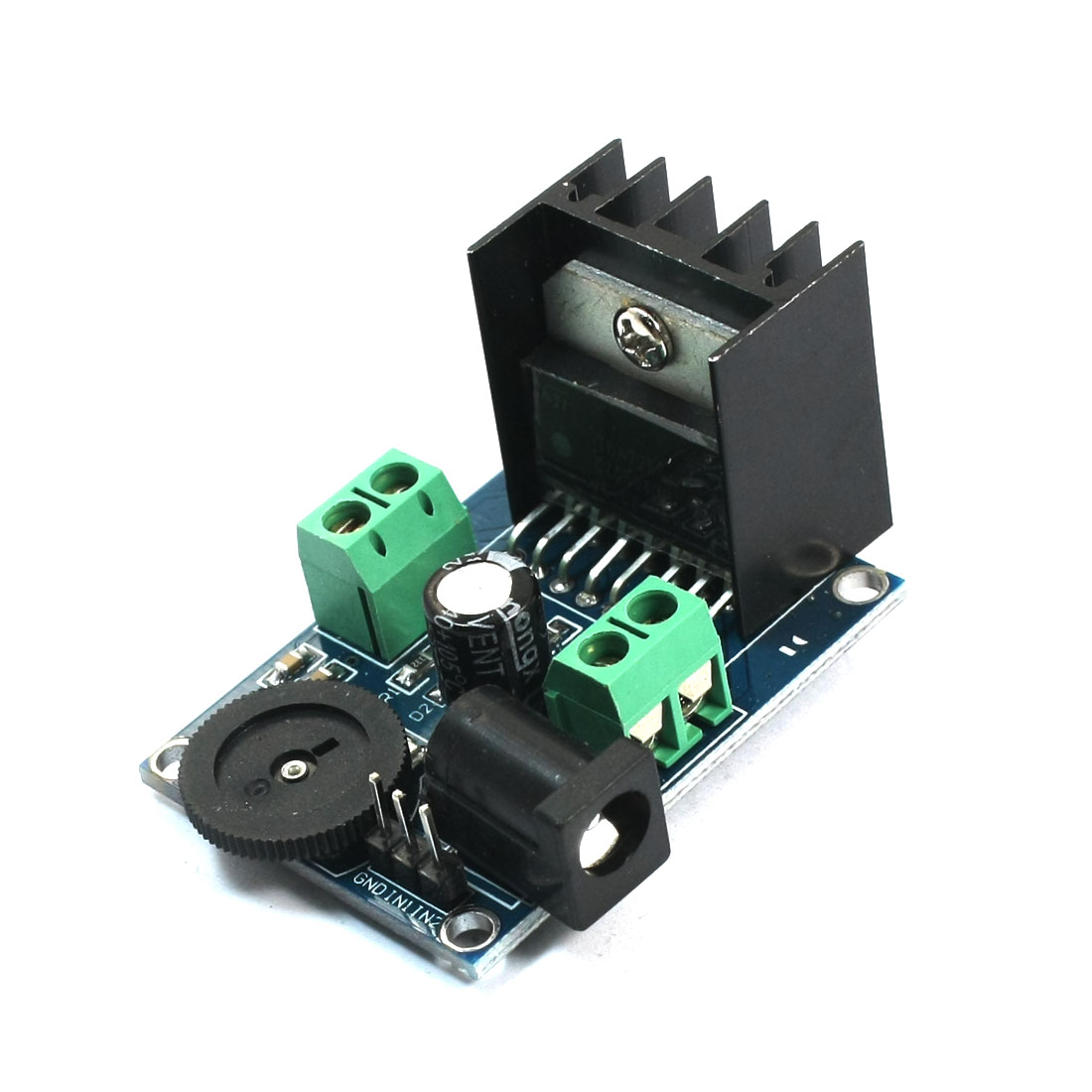 DIY Assembly Double Channel 7W+7W TDA7266 Audio Amplifier Module DC 3-18V