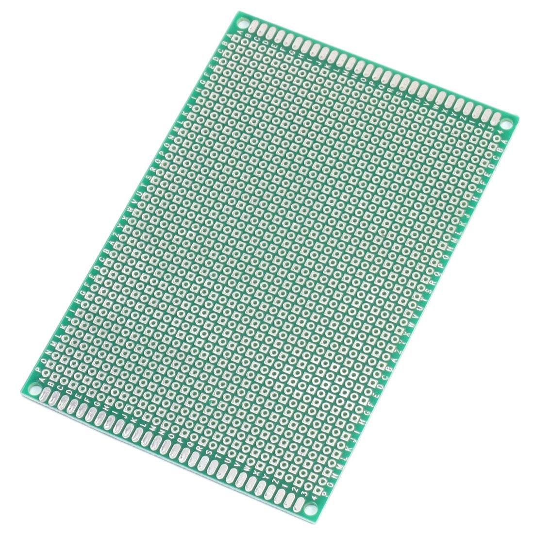 DIY Single Side Prototyping Experiment Matrix PCB Circuit Board 8x12cm