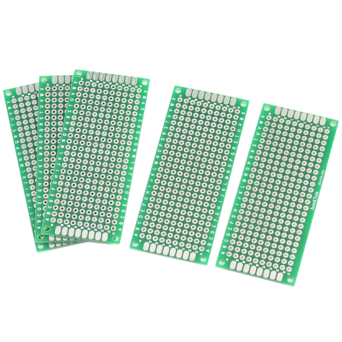 FR-4 Double Side DIY Experiment Matrix PCB Universal Board 7cm x 3cm 5PCS