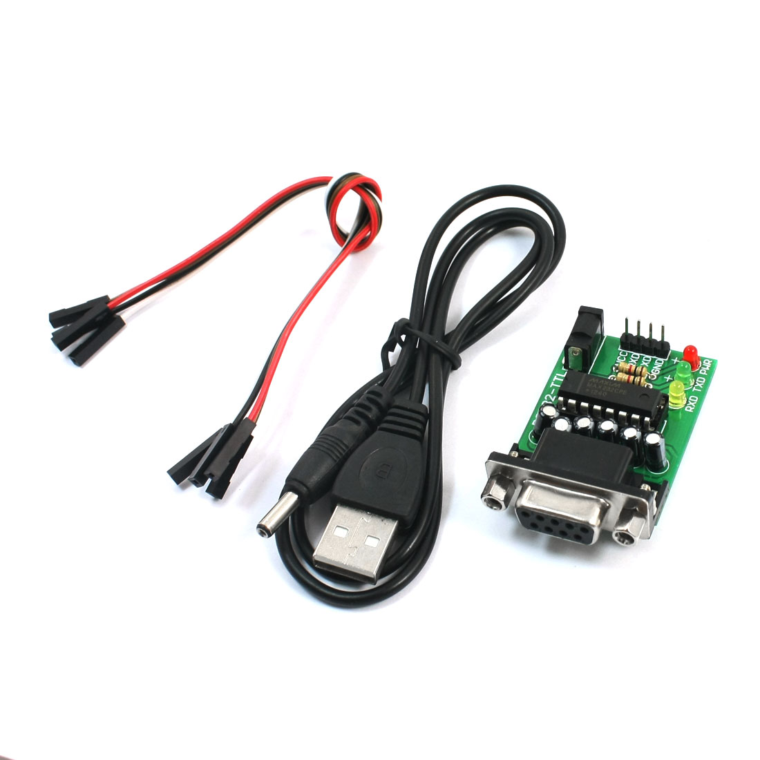 RS232 Serial to TTL Port Converting Communications Board Module