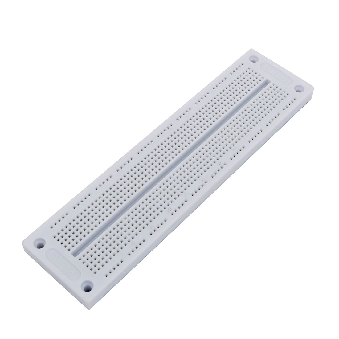 White Plastic 700 Tiepoint Test Develop DIY PCB Solderless Bread Board SYB-120