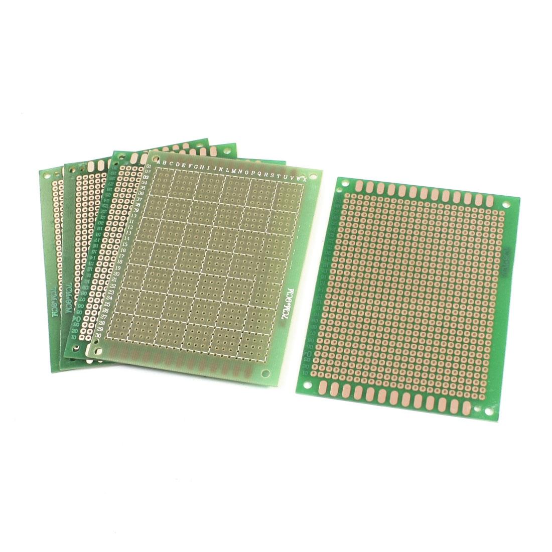 5pcs DIY Prototyping Experiment Tester Matrix PCB Circuit Board 7 x 9cm