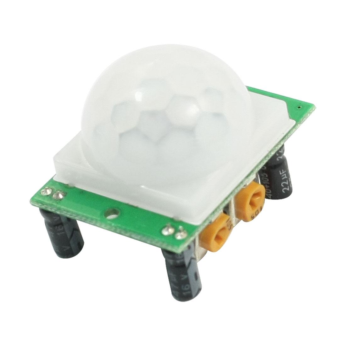 DC 5-20V HC-SR501 PIR Human Body/Motion Pyroelectric Infrared Sensor Module