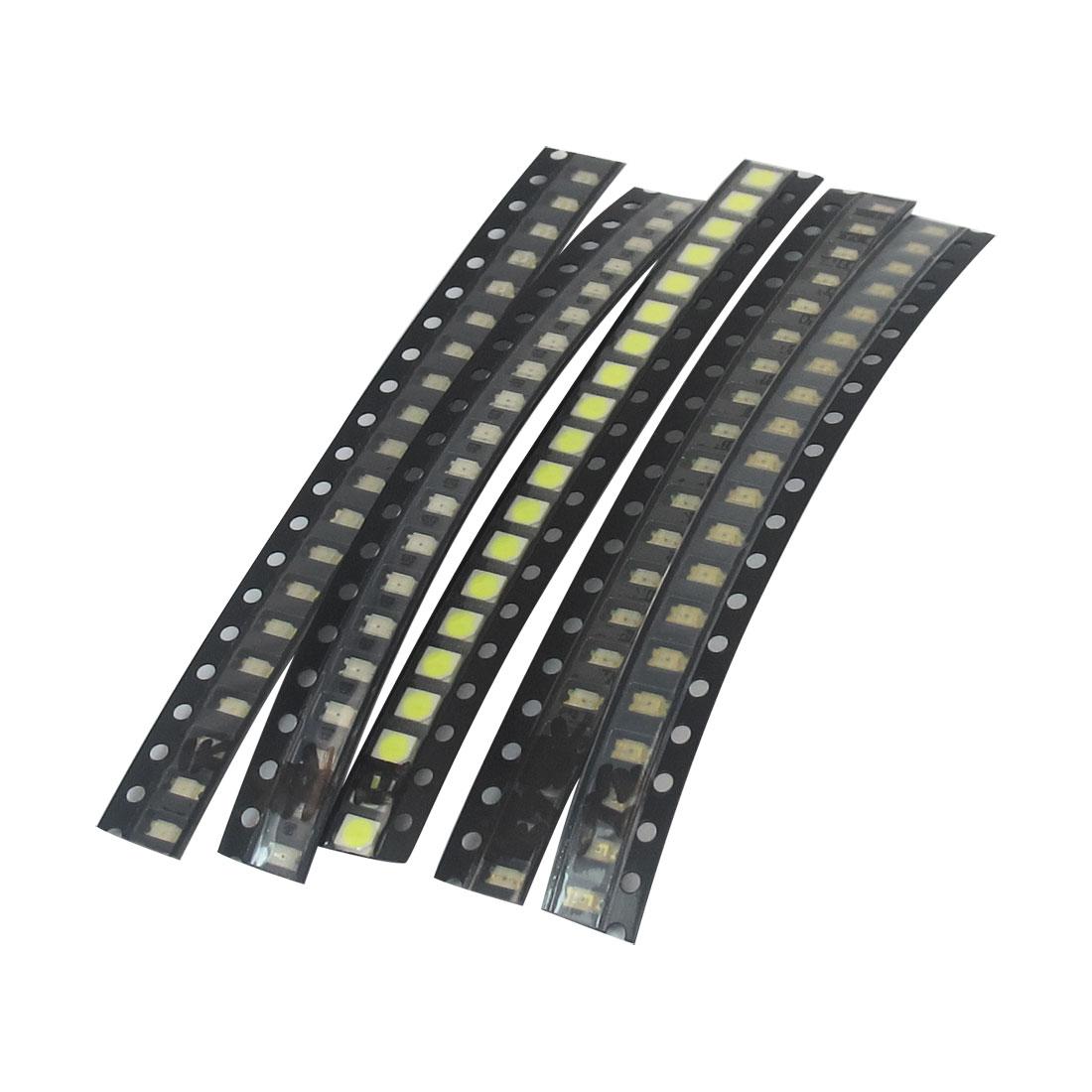 100pcs Multicolor Superbright 1206/3528 Surface Mount LED Light Emitting Diode