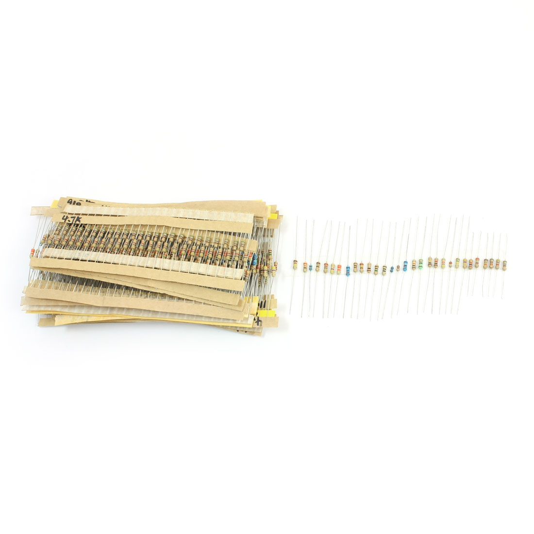 660pcs 30 Value Kinds Metal Film Resistors 1-2.2M Ohm 5% 1/4W 1/6W