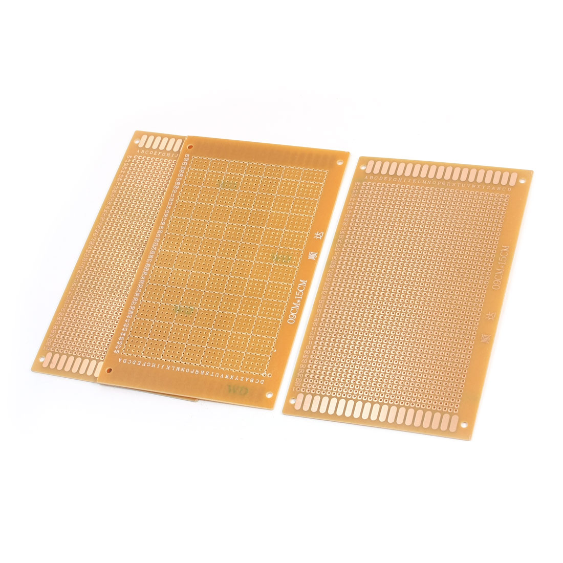 3pcs DIY FR-4 Universal Prototype Solderable PCB Circuit Board 9 x 15cm