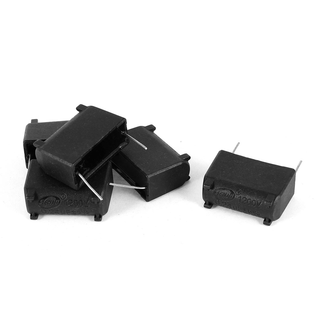 1200V 0.24uF 2Pins Polypropylene Film Capacitors 5 Pcs for Home Induction Cooker