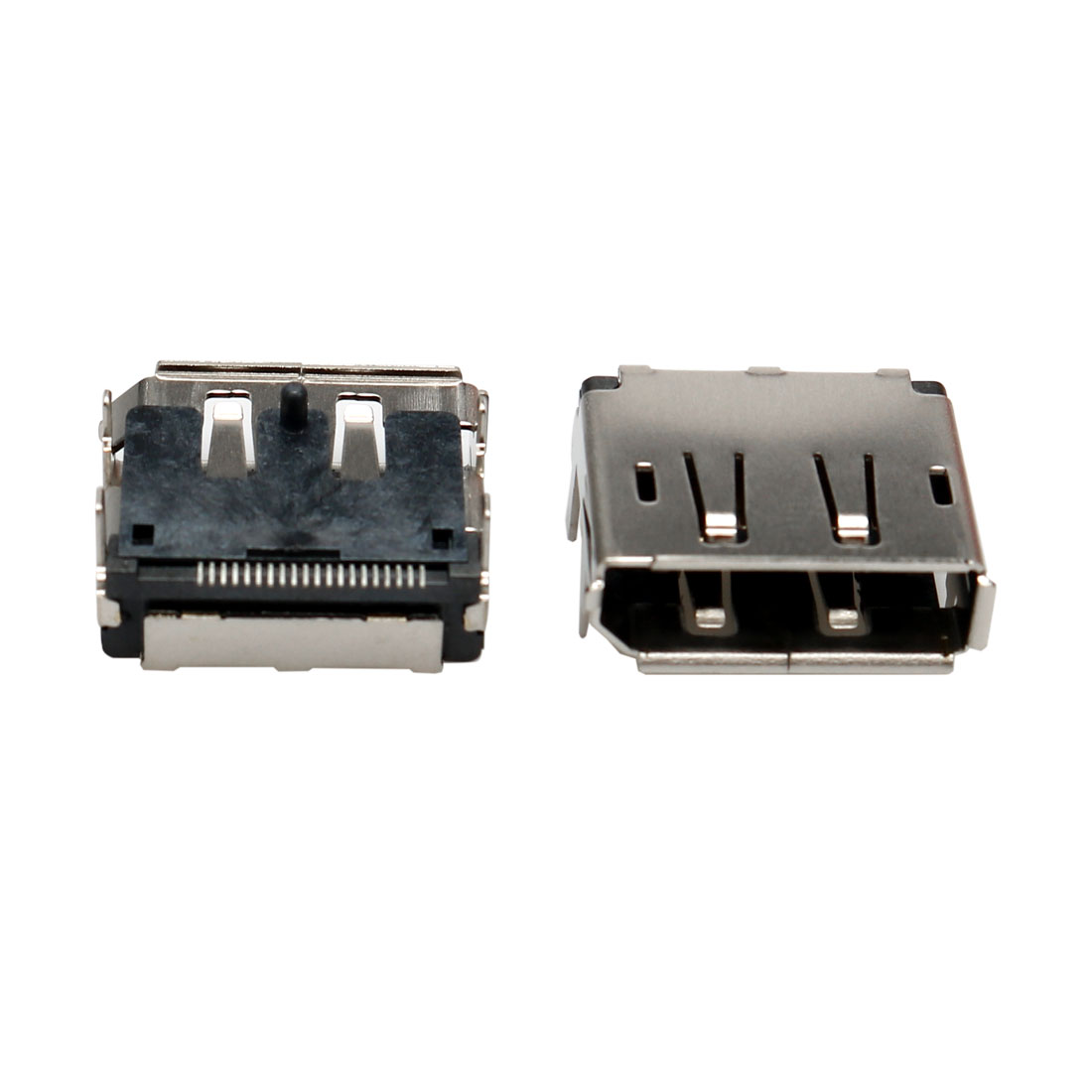 Single Port DisplayPort DP 20Pin Female Jack Socket PCB SMT Adapter 2 Pcs