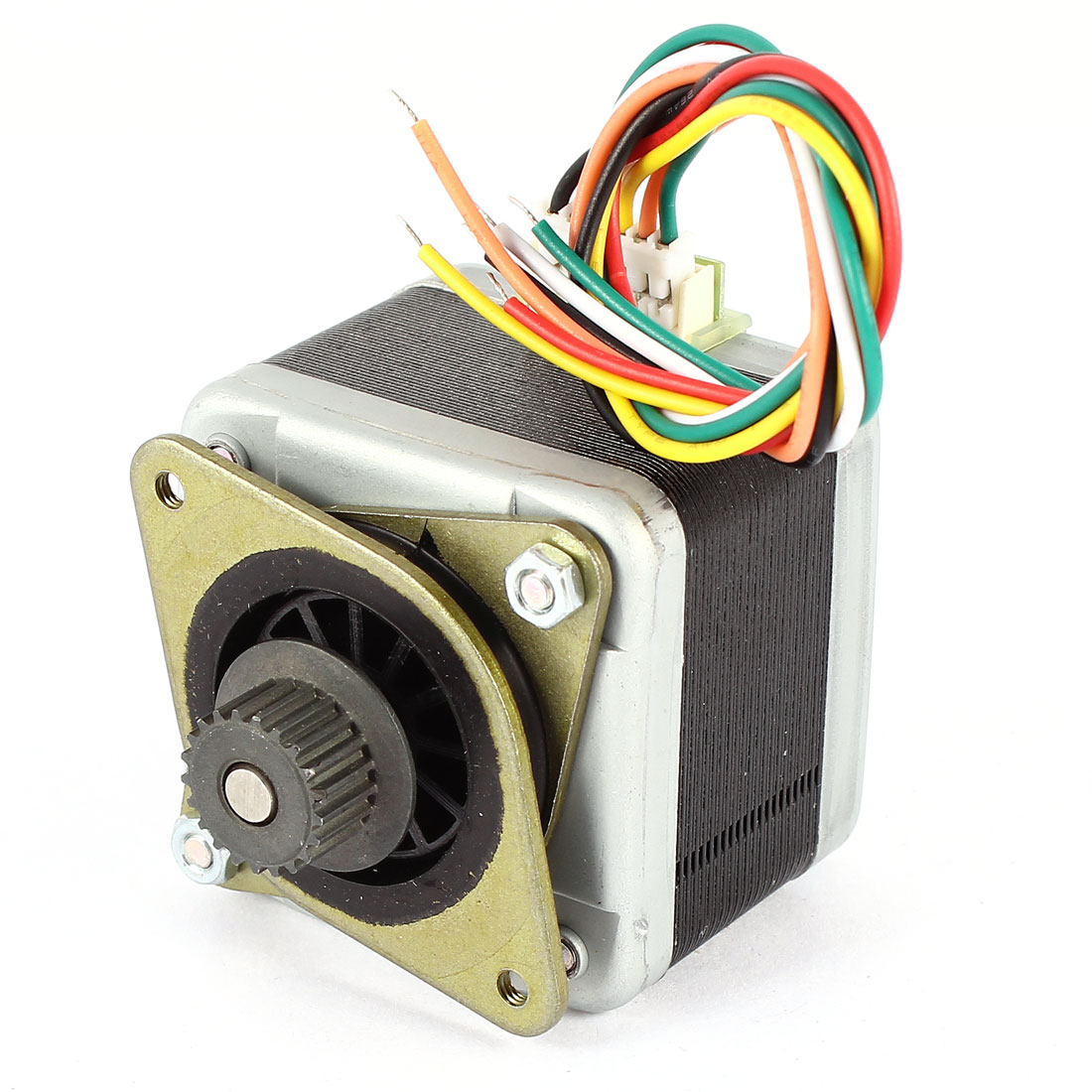 5mm Dia Shaft 42mm Geared Stepper Stepping Motor DC 5V 0.5A 7 Ohm for 3D Printer
