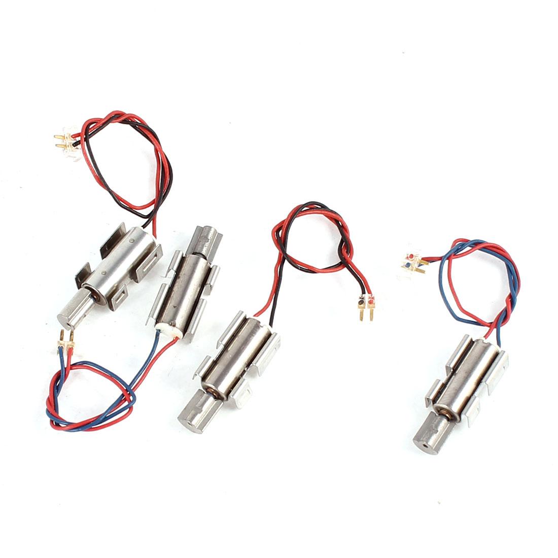 Electric Mini Vibrating Vibration Motor DC 2V-5V Replacement 4 Pcs